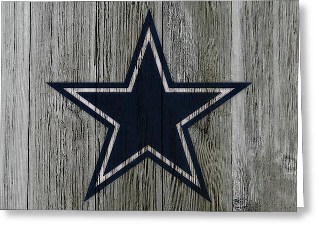 The Dallas Cowboys C3                              Greeting Card by Brian Reaves