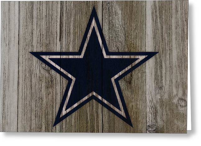 The Dallas Cowboys C4                             Greeting Card by Brian Reaves