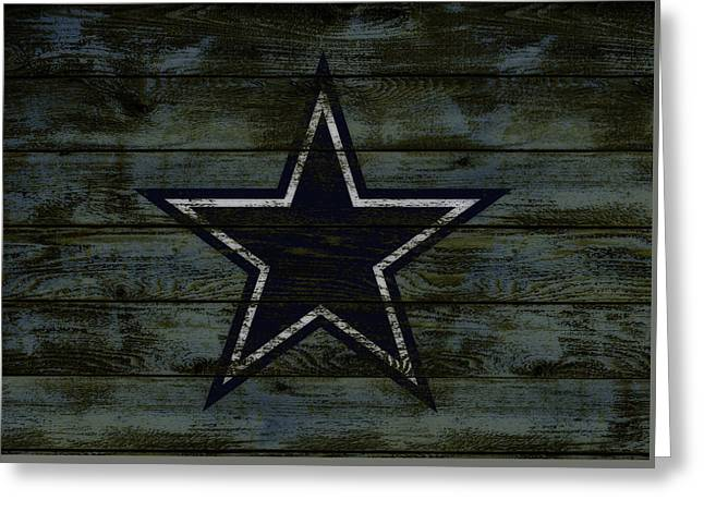 The Dallas Cowboys D2                              Greeting Card by Brian Reaves