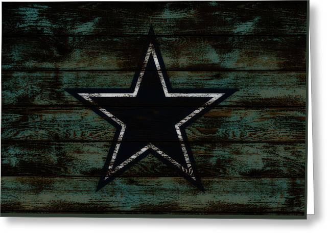 The Dallas Cowboys D3                              Greeting Card by Brian Reaves