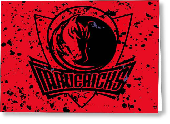 The Dallas Mavericks 2b Greeting Card