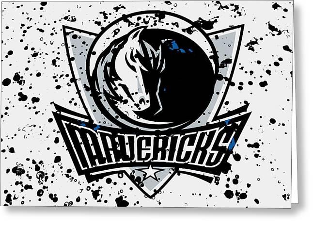 The Dallas Mavericks 2c Greeting Card