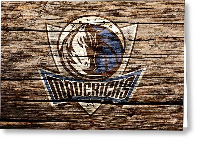 The Dallas Mavericks 4a Greeting Card