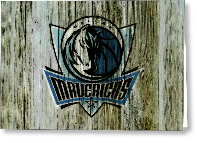 The Dallas Mavericks C1       Greeting Card
