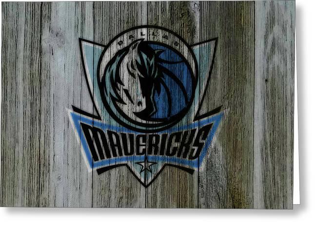 The Dallas Mavericks C2       Greeting Card