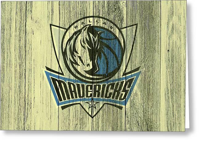The Dallas Mavericks C3       Greeting Card