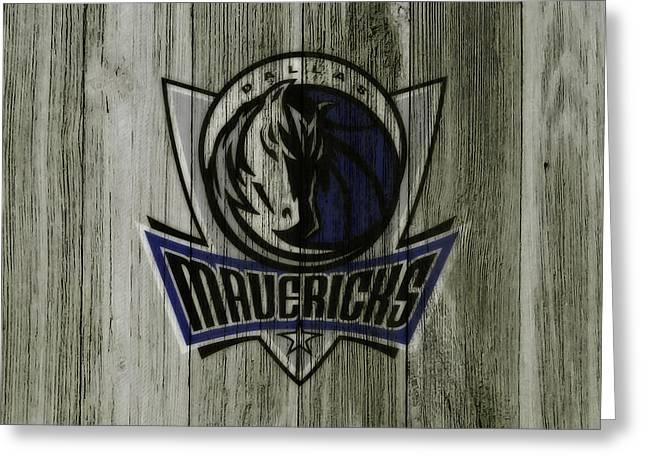 The Dallas Mavericks C7       Greeting Card