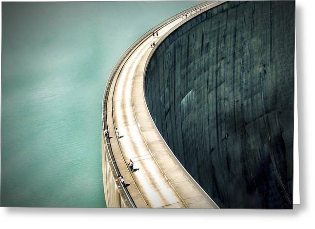 The Dam ... Greeting Card by Anna Cseresnjes