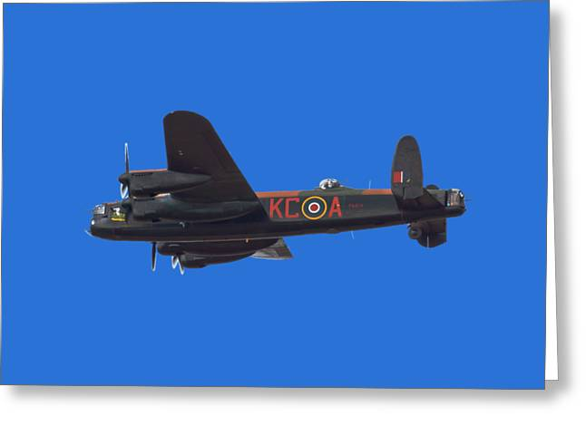 The Dambuster Greeting Card by Scott Carruthers