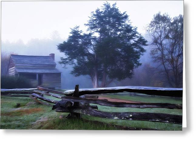 Greeting Card featuring the photograph The Dan Lawson Place by Lana Trussell