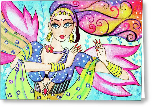 The Dance Of Pari Greeting Card