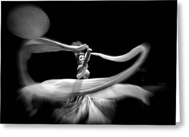 The Dancer Greeting Card by David Kovac
