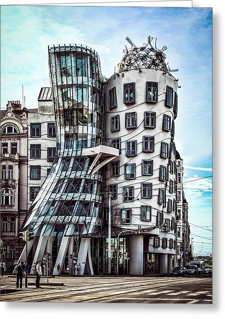 The Dancing House Greeting Card