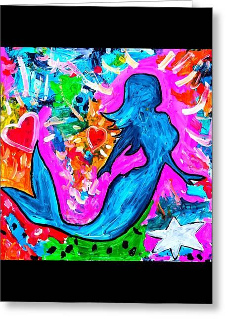 The Dancing Mermaid Greeting Card