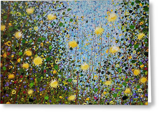 The Dandelion Patch Greeting Card