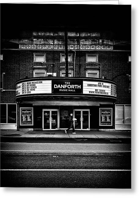 The Danforth Music Hall Toronto Canada No 1 Greeting Card