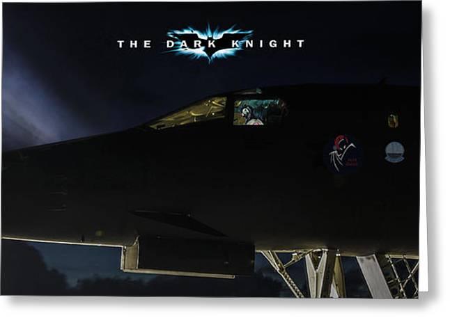 The Dark Knight 2 Greeting Card