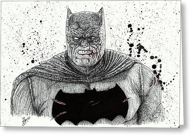 The Dark Knight Greeting Card
