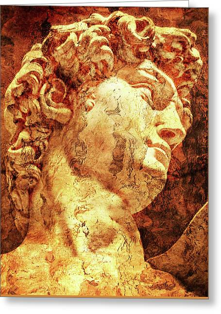 The David By Michelangelo Greeting Card