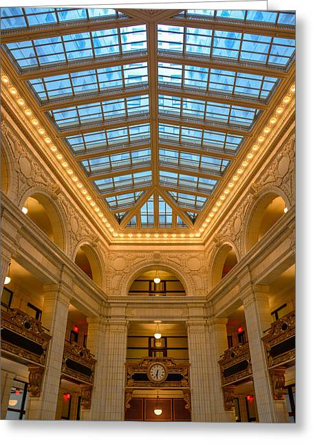 The David Whitney Building Greeting Card