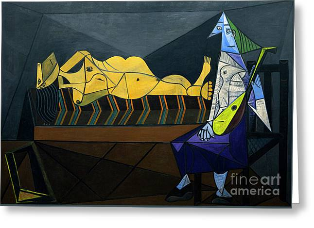 The Dawn, L'aubade, By Pablo Picasso, 1942, Centre Pompidou, Par Greeting Card by Peter Barritt