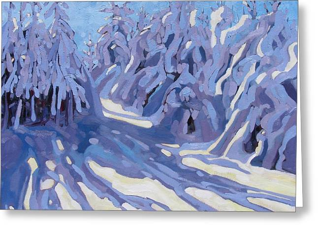 The Day After The Storm Greeting Card by Phil Chadwick