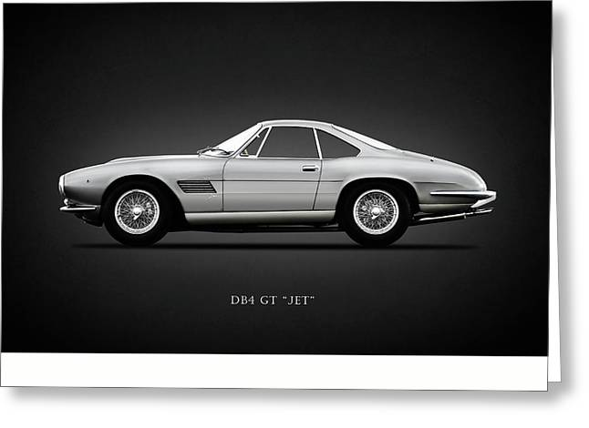 The Db4gt Jet Greeting Card by Mark Rogan