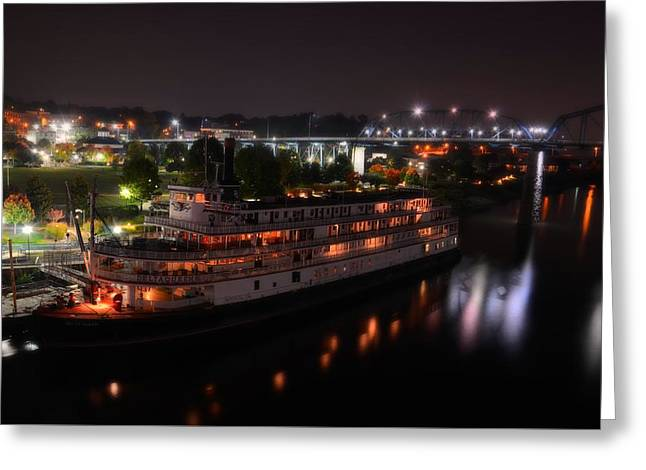 The Delta Queen Greeting Card