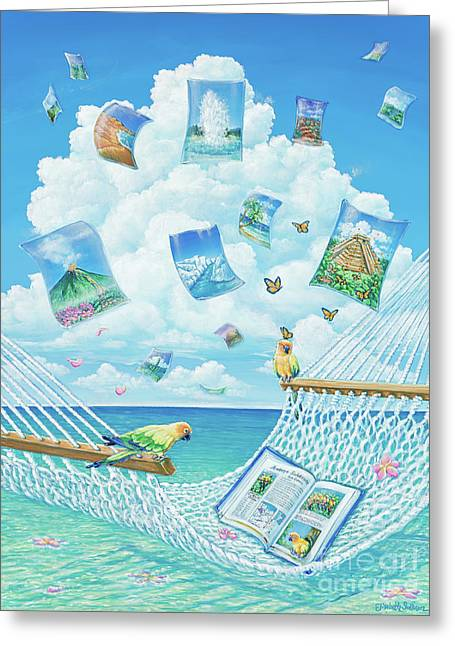 The Destinations Of A Dream Greeting Card