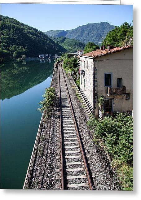 The Devil's Bridge - Borgo A Mozzano #2  Greeting Card by Richard Smukler