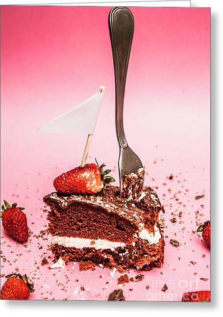 The Diet Breakup Greeting Card