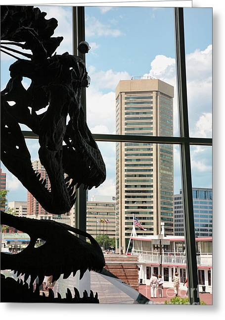 The Dinosaurs That Ate Baltimore Greeting Card