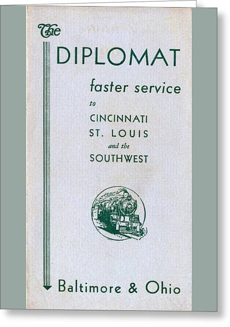 The Diplomat Greeting Card