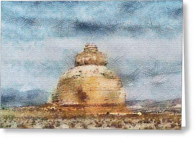 The Dome Greeting Card by John Winner