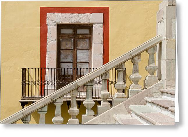 The Door By The Stairs. Greeting Card