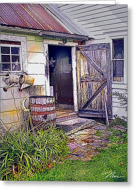 The Door Is Always Open Greeting Card