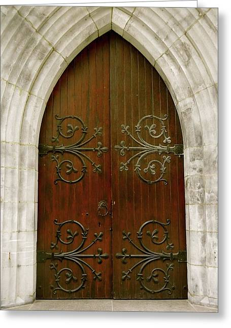 The Door Of Opportunity Greeting Card