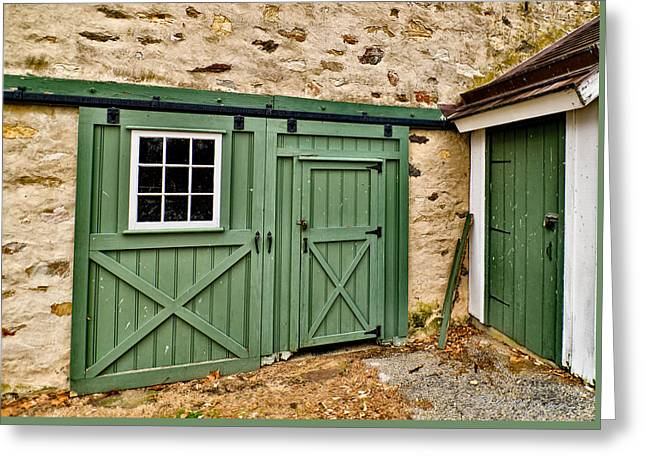 Greeting Card featuring the photograph The Door by Robert Culver