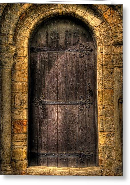 Old Doors Greeting Cards - The Door Greeting Card by Svetlana Sewell