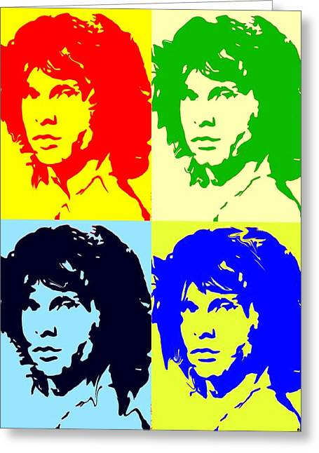The Doors And Jimmy Greeting Card