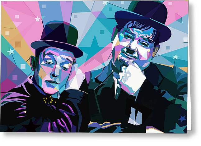 The Double Act Greeting Card