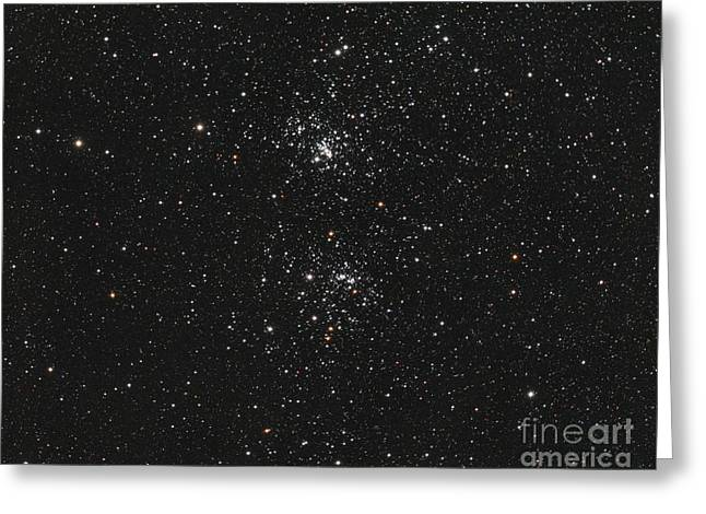 The Double Cluster Greeting Card