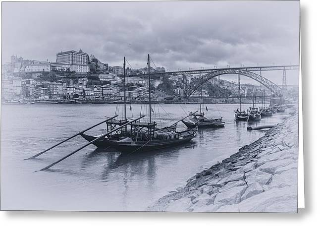 The Douro River Greeting Card
