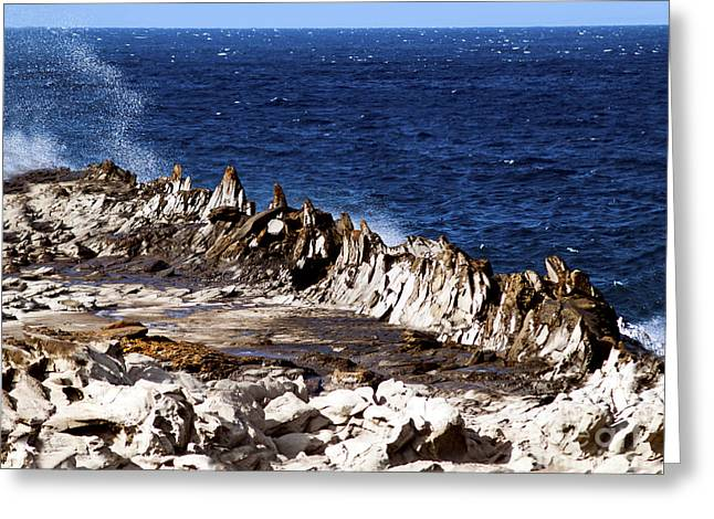 The Dragons Teeth II Greeting Card