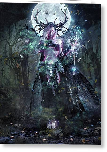 The Dreamcatcher Vertical Print Greeting Card