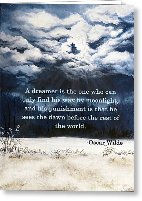 The Dreamer Greeting Card