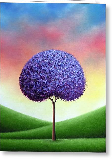 The Dreams We Whisper Greeting Card by Rachel Bingaman