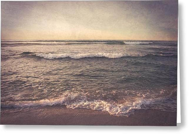The Dreamtime Sea Greeting Card by Sheri Van Wert