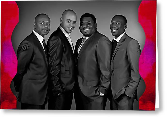 The Drifters Collection Greeting Card by Marvin Blaine