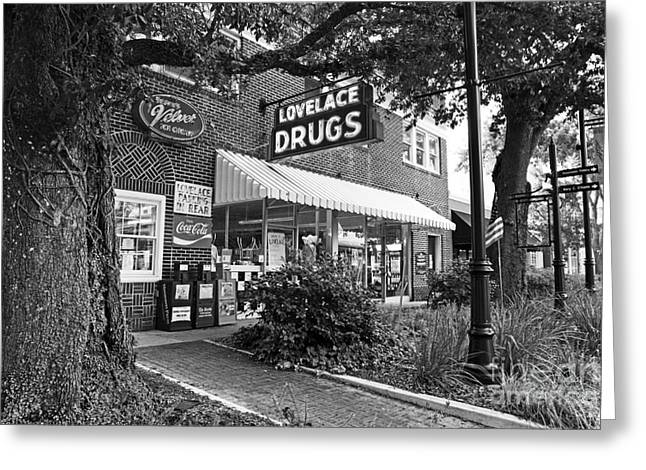 The Drug Store Greeting Card